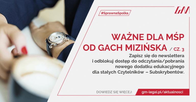 ważne dla MŚP cz. 3